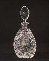 Cut crystal bottle 41041/26008/060 0.6 l.