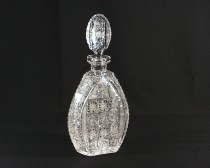 Cut crystal bottle 41041/57001/060 0.6 l.