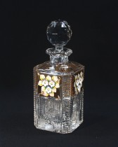Cut crystal bottle 41081/57011/080 0.8 l.