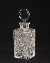 Cut crystal bottle 41081/57033/080 0.8 l.