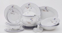 Porcelain tableware Mary Anne 807 geese 25d.