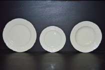 A set of plates Bernadotte, color ivory / Bern Yvor 18 pcs.