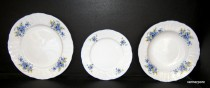 A set of plates Bernadotte FLOWER 292051 18d.