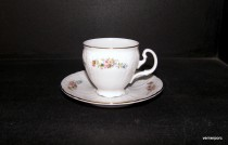 Cup and saucer coffee Bernadotte ED003011 0.16 l.