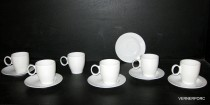 Cup and saucer coffee Future 6pcs.