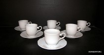 Cup and saucer coffee Ophelia 6pcs.