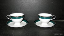 Cup and saucer tea President 204 2 pcs