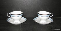 Cup and saucer tea President 205 2 pcs