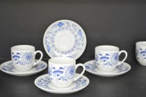 Cup and saucer coffee Saphyr 29030 135 mm 6 pieces.