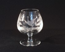 Crystal brandy glasses bird 750 ml. 10014/00001/750P 1pc.