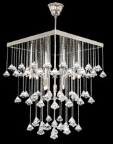 Ceiling chandelier TX324001009 silver.