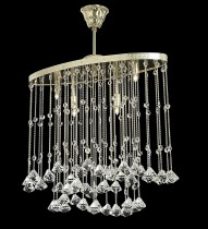 Ceiling modern chandelier TX322000004, gold