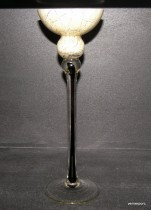 Marble candlestick 35 cm.