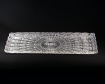 Rectangular-cut crystal platter 69172/57001/600 60cm.