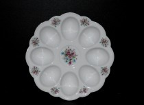 Plate for eggs, decor 013.