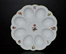 Plate for eggs, decor 056