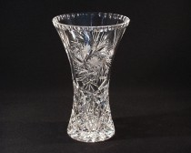 VASE CUT GLASS 80029/26008/255 25,5cm.