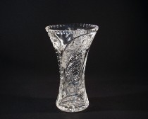 VASE CUT GLASS 80029/35003/255 25,5cm.
