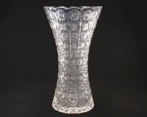 VASE CUT GLASS 80029/57001/410 41cm.
