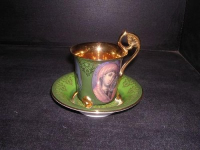 Meissen cup and saucer 569 0.20 l.