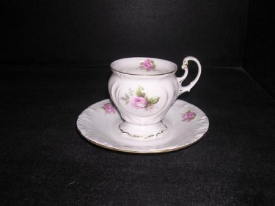 Cup and saucer coffee Thun 466