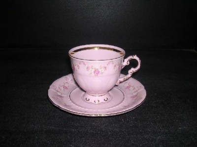 Cup with saucer 0.15 L. 158 Sonata Pink