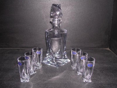 Liquor Set Quadro 60ml. 7pcs. SPECIALLY LOW PRICE.
