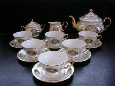 Porcelain tea set Sonata 676 15 pcs.