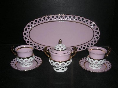 A friendly suite with tray 403 Byzantine 6pcs.