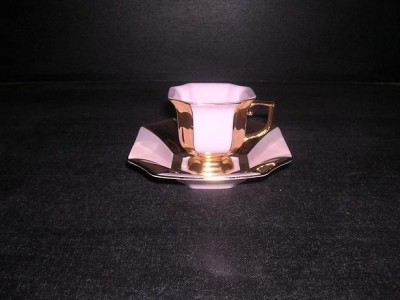 Cup with saucer 0.10 L. 380 Empire period