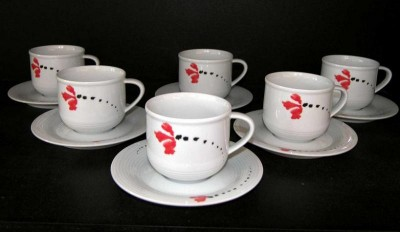 A cup and saucer Catrin 29920 157 ml. 6 pcs.
