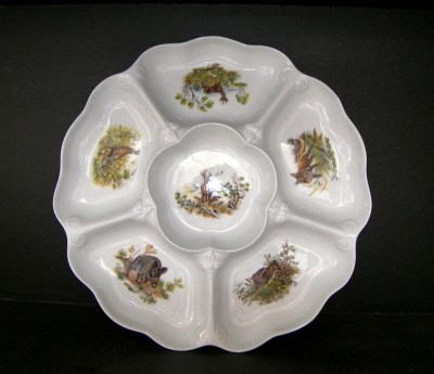 Bowl 6 pcs 6 * 35 cm hunting theme