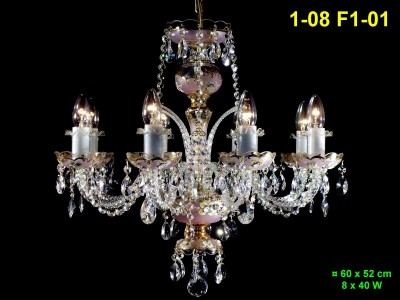 8 arm chandelier 1-08 F1-01