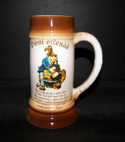 Beer mug 0,5 l Beer Lord's Prayer I