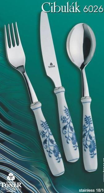 CUTLERY BLUE ONION 6026 24pcs.