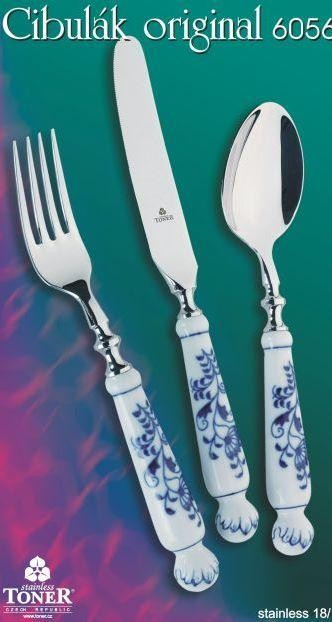 CUTLERY BLUE ONION ORIGINAL 24pcs.