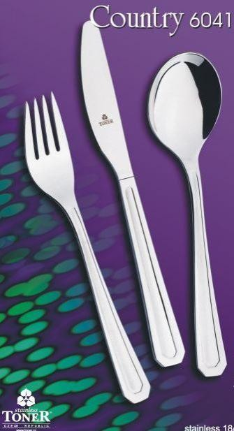 CUTLERY COUNTRY 6041 24pcs.