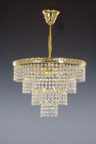 SINGLE-OFF PRICE ACTION Chandelier Crystal 6-armed chandelier 02001/00166/006 41 * 31