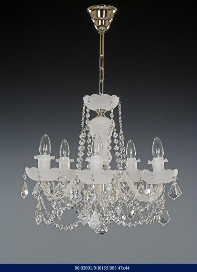 Chandelier 5 arm 02001/10155/005