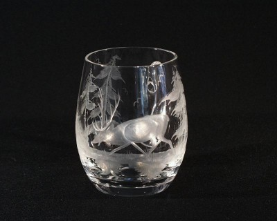 POT CRYSTAL BIRD 0,6l. 23043/0001/600J