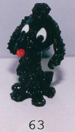 Black Poodle Dog 63