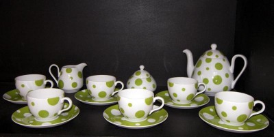 TEA SET VIOLA ZK471 15pcs.