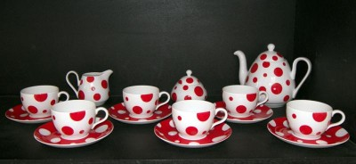 TEA SET VIOLA ZK464 15pcs.