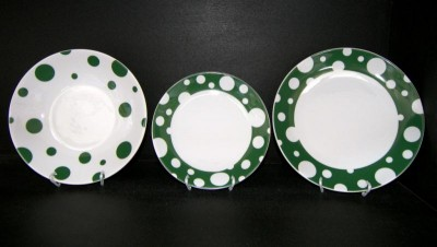 PLATE SET VIOLA ZK472 18pcs.