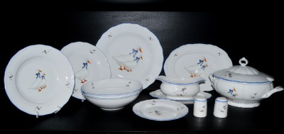 Dining set goose, Ofelie / Verona, decor 313 28d.