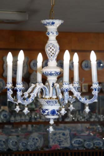 CHANDELIER SIX ARM