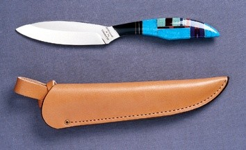 Fixed knife T2S Trout & Bird