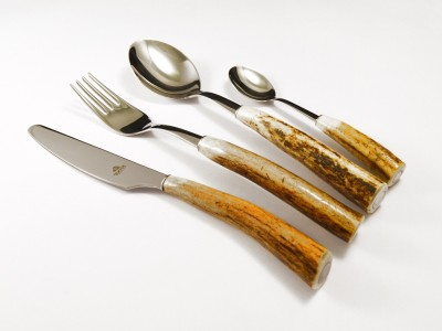 Cutlery made of antlers Hubert 6074 24pcs.