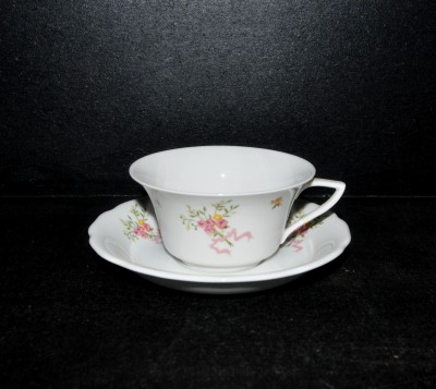 Cup with saucer Windsor bouquet, 0,15l.